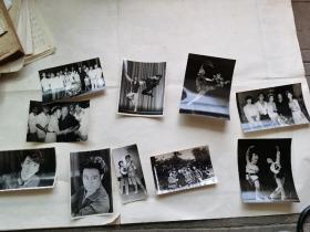 一组八十年代著名舞蹈家(演员)照片十张合售(资华筠、华超、殷志远、左青、刘敏等)