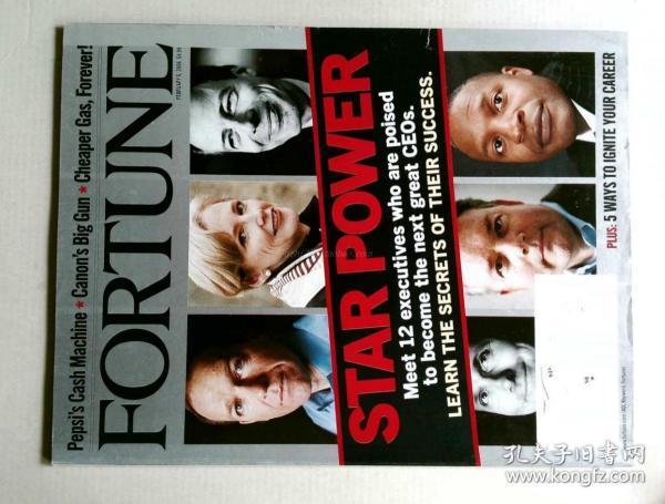 FORTUNE 英文财富杂志 2006/02/06 财经杂志原版外文杂志期刊