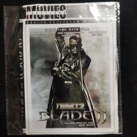 影视光盘722【刀锋战士2】一张DVD
