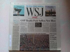 THE WALL STREET JOURNAL 华尔街日报周末版 WSJ 2017/09/23-24  外文原版报纸