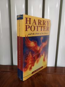 哈利波特与凤凰社英文版,瑕疵如图,介意勿拍,包邮