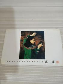 明信片首都师范大学美术学院教师作品集陈畏