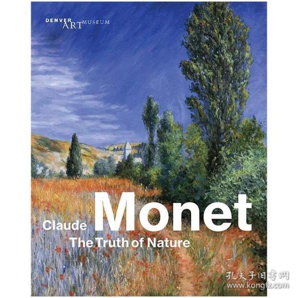 现货:Claude Monet 莫奈作品集 The Truth of Nature 自然的真相 英文原版进口画册
