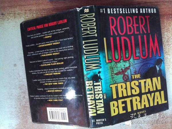 The Tristan Betrayal by Robert Ludlum