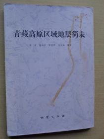 青藏高原区域地层简表