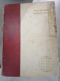 1966年/大型英文地图集===the odyssey world atlas(奥德赛世界地图集/42X31CM)