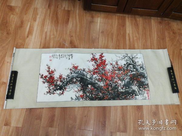 木版水印-铁骨生香(仿 王成喜)