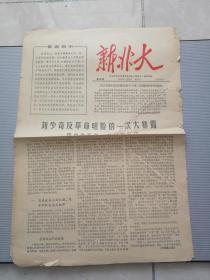 文革小报  新北大(第43期)8开4版