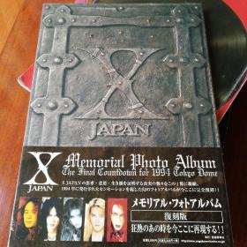X memorial photo album the final coutdown for 1994 tokyo dome