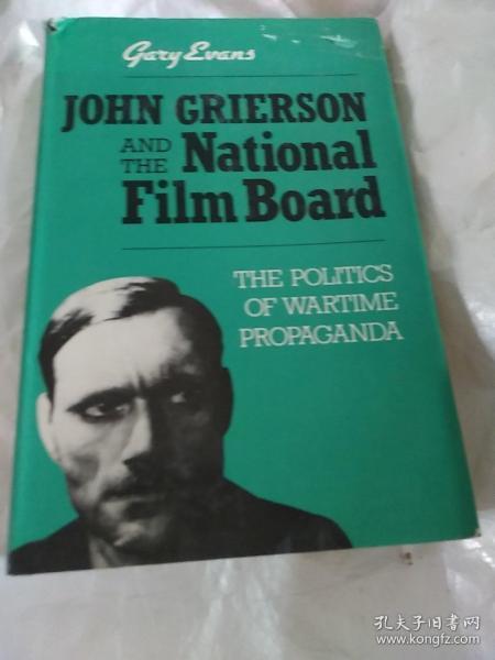 约翰.格里尔森和国家电影委员会  战时宣传的政治(1984年,英文原版)。精装