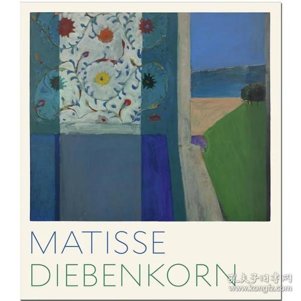 现货:正版Matisse/Diebenkorn马蒂斯/迪本科恩 绘画作品集艺术画册