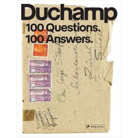 现货:正版Marcel Duchamp 马塞尔·杜尚:100个问题,100个答案 英文原版画册艺术图书