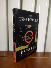 指环王英文版,The Two Towers (The Lord of the Rings, Part 2) 指环王2:双城奇谋,全新无笔记包邮
