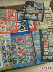 中外邮票彩页36张,合售