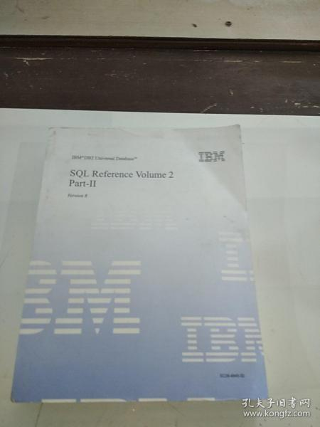 SQL REFERENCE VOIUME 2 part_llSQL参考第二部分