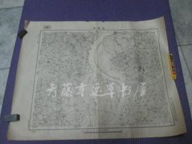民国地图:一张(民国三十七年)