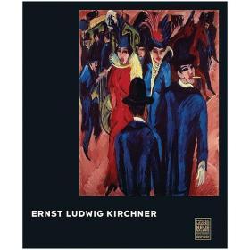 现货:正版Ernst Ludwig Kirchner 恩斯特路德维希基尔希纳作品集 英文进口画册艺术图书