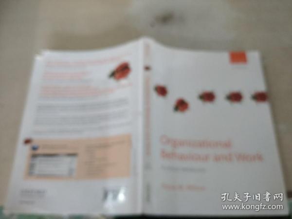 Organizarional  Behaviour and Work组织行为和工作