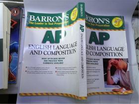 16开英文原版 Barrons Ap English Language And Composition