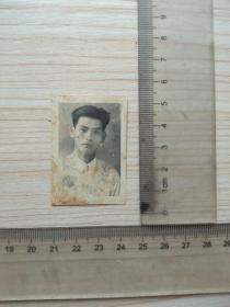 老照片,1955年个人,,尺寸图为准
