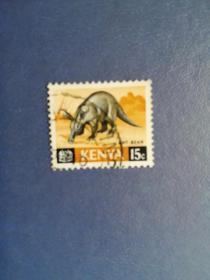 外国邮票 肯尼亚邮票 动物( 信销 )