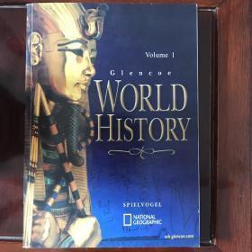 Glencoe WORLD HISTORY (两册合售)