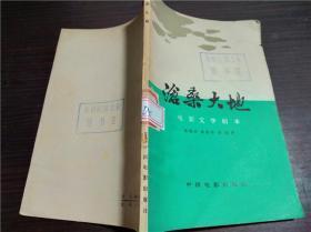 沧桑大地 电影文学剧本 中国电影出版社 1978年1版1印 32开平装