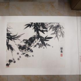 卢坤峰水墨画