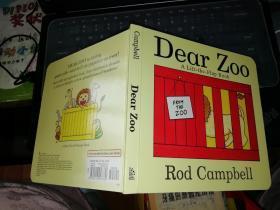 Dear zoo a lift-the -flap book rod campbell    【外文原版资料】       亲爱的动物园        【图片为实拍图,实物以图片为准!】