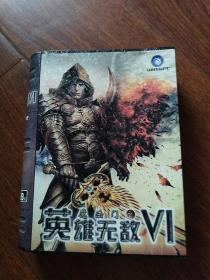 魔法门之英雄无敌Vl  (金属盒子包装变形)说明书一本,碟子两张,卡片三张