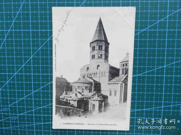 {会山书院}89#世界各国百年欧洲风情-尖顶建筑-手写英文明信片