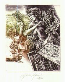Guido Mariman藏书票原作1
