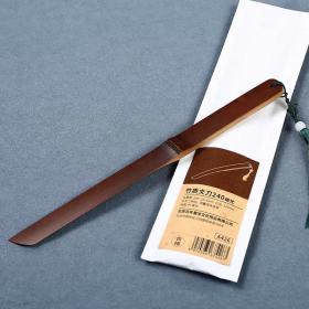 手工碳化竹质裁纸刀 宣纸文房四宝文刀 碳化 宣纸裁纸刀 文刀