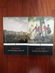The Wealth of Nations books 1-3 4-5 两本合售 国富论 英文原版 亚当斯密 PENGUIN CLASSICS