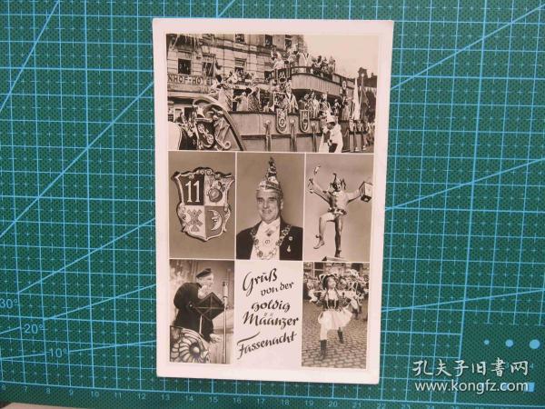 {会山书院}109#世界各国百年欧洲风情-竞选图-手写英文明信片