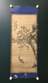 日本回流字画 软片3566--   3570    山水六幅  屏风画