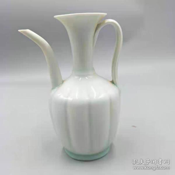 湖田窑影青釉茶壶
