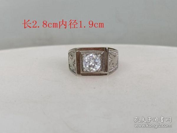 乡下收的镶嵌宝石戒指.0... .