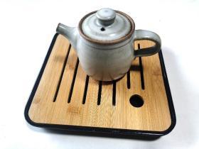 全新竹制四方茶盘 尺寸20.5x20.5cm