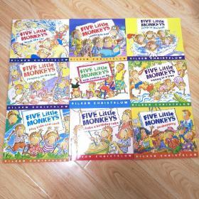 FIVE Little MONKEYS(9本合售)