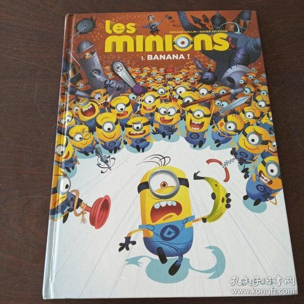 Les Minions - Tome 1 - Banana ! (French Edition)(法语原版)