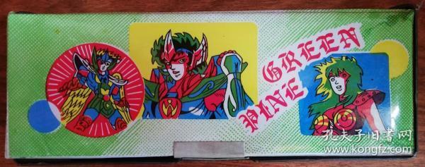 文具盒:圣斗士星矢(星矢?莎尔娜?阿舜?紫龙?沙加)