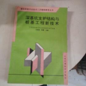 深基坑支护结构与桩基工程新技术——建设系统专业技术人员继续教育丛书