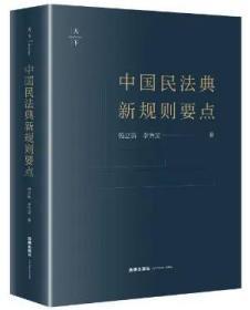 新书预售 2020新版中国民法典新规则要点 杨立新 李怡雯著 2020新民法典法律法规工具书 民法典法条 法律出版社9787519742683