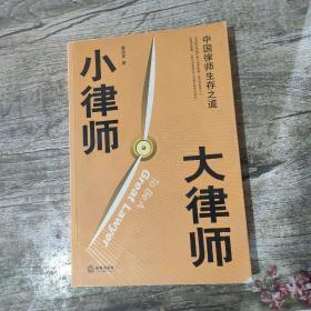 小律师 大律师:中国律师生存之道