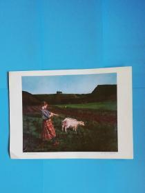 汝拉山区的牧羊女--布荣(、--1900)