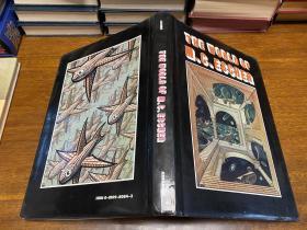 The World of M.C.Escher  版画大师埃舍尔画选,  布面精装原版,铜版纸 ,12开本