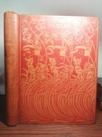 1897年 THE PARADE AN ILLUSTRATED GIFT BOOK FOR BOYS AND GIRLS  大量插图  25.5X19.5CM