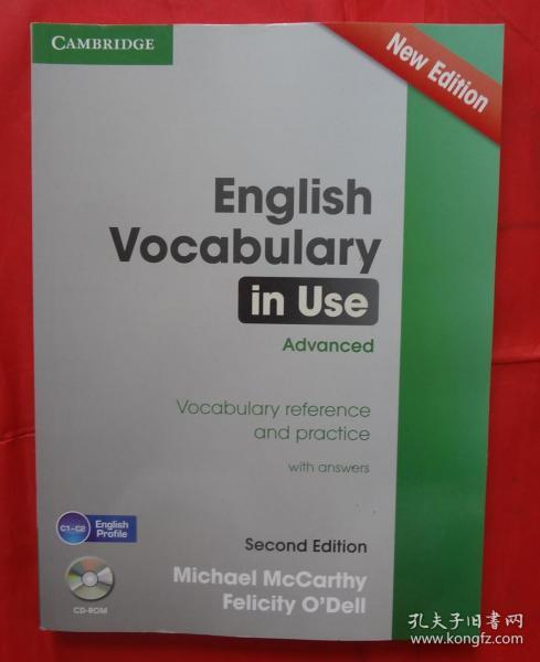 English Vocabulary in Use Advanced  Vocabulary R 附光盘
