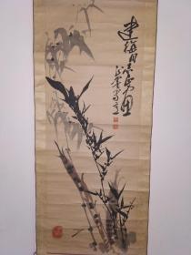 张正墨,国画,竹子精品。